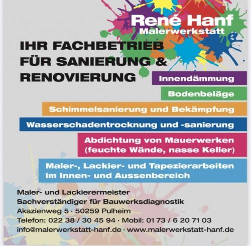 René Hanf Malerwerkstatt